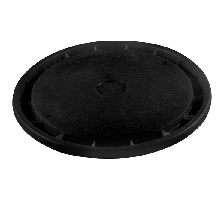 United Solutions 5 gal. Bucket Lid in Black-PN0113 - The Home Depot