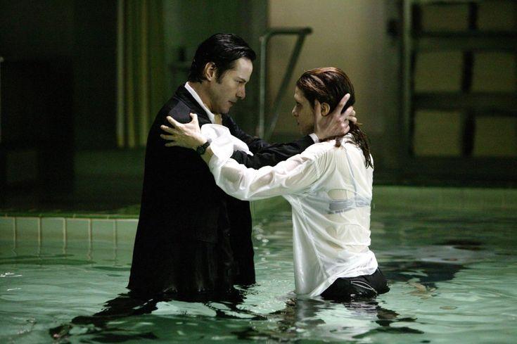Constantine. Keanu Reeves and Rachel Weisz. 2005.