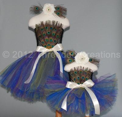 Awww,,,the prettiest little peacock costume