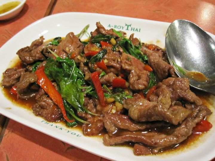 Spicy Beef with Thai Basil | vietnamese/asian dishes | Pinterest