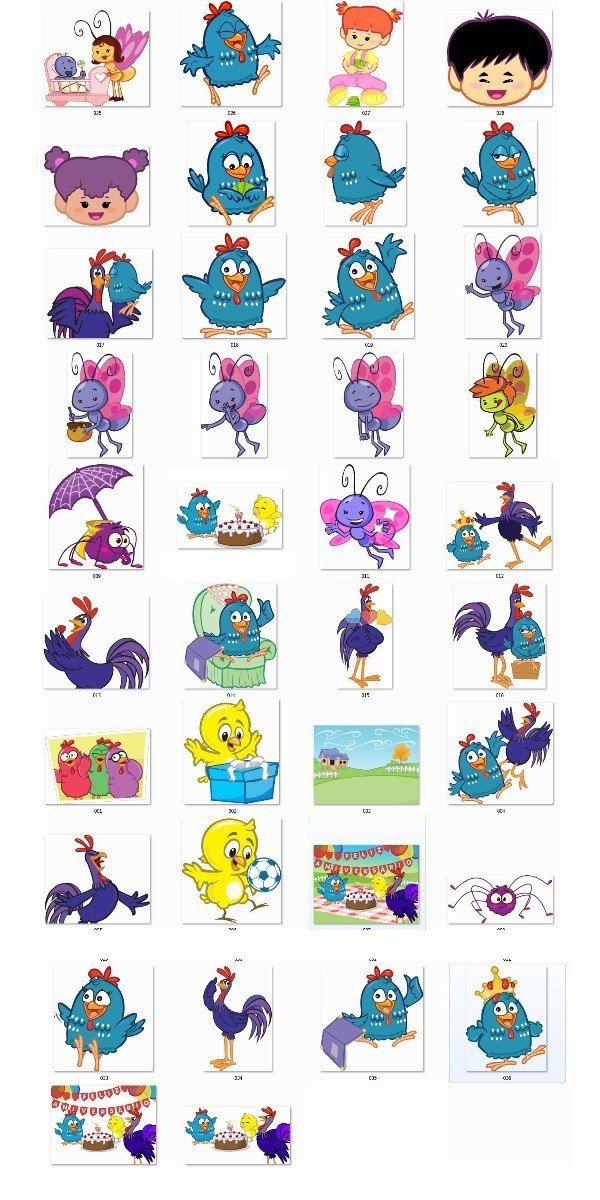 Vetor Galinha Pintadinha Sua Turma Para Corel Adesivo Pictures Picture cakepins.com
