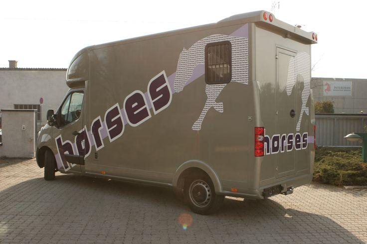 Pferdetransporter Folierung #Autofolierung #pferdetransporter #Pferde #Kfz #Folierung #carwrapping #horse