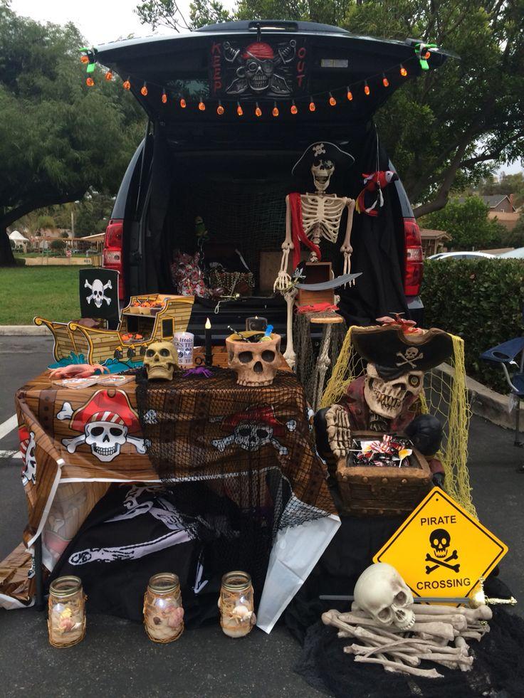 Trunk Or Treat Pirate Theme I Heart Halloween