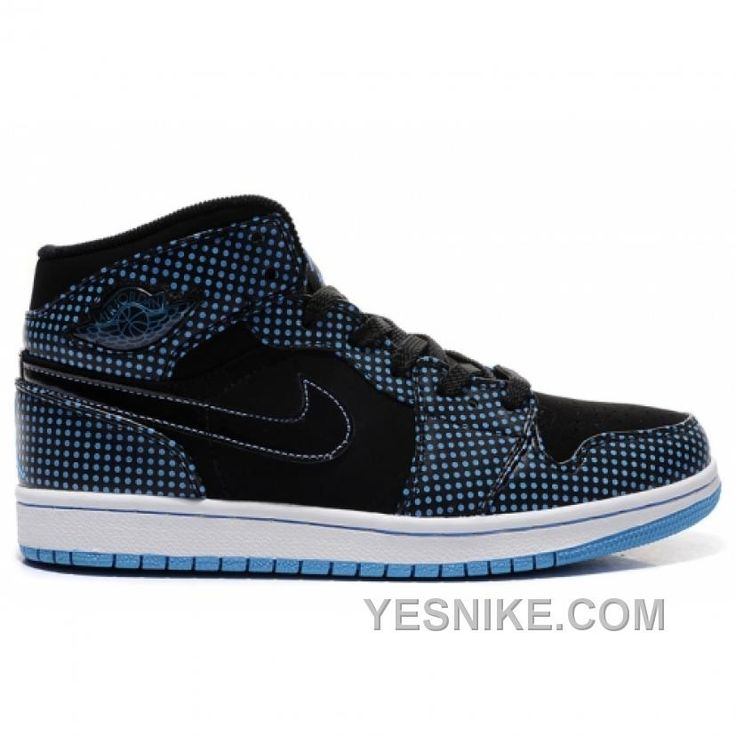 Air Jordan Retro 1 High Polka Dots Black Blue White 136065-042