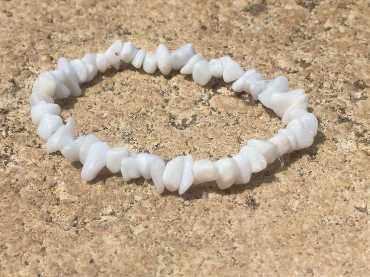 White Feldspar stretch bracelet. $4.95 via www.divineaura.com.au Or find me on Facebook @ www.facebook.com/divineaura123