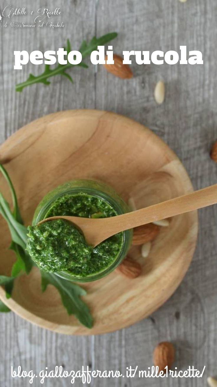 Pesto di rucola recipe in 2019 cucina ricette for Ricette cibo