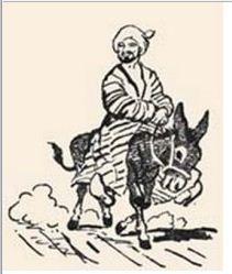 Жизнь прошла зря. Притча про Насреддина     Когда для Муллы Насреддина наставали тяжёлые времена, он зарабатывал на жизнь тем, что перевозил пассажиров с одного берега реки на другой на своей лодке.     Как-то раз великий книжник переправлялся через реку на его лодке. Он спросил Насреддина:     — Скажи-ка, лодочник, а знаешь ли ты Коран? Изучал ли ты писания?     — Нет, некогда мне, — отмахнулся Насреддин.     — Да, тогда половина твоей жизни прошла зря, — изрёк грамотей.     В это время
