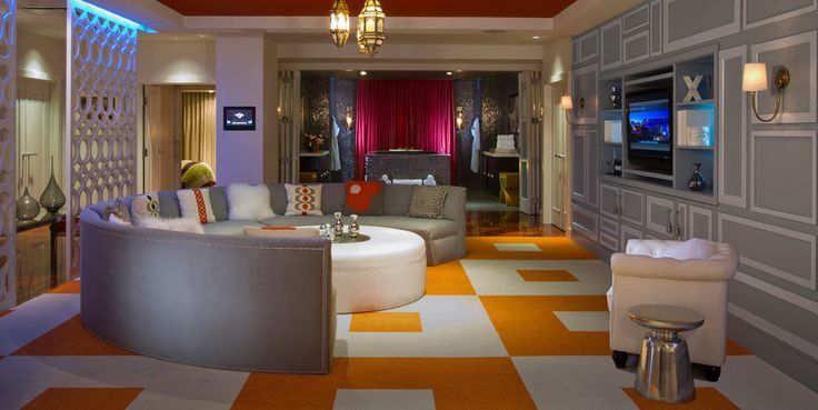 OH MY FREAKIN GOSH! Penthouse Real World Suite Casino Tower - hotel appartements luxuriose einrichtung hard rock hotel las vegas