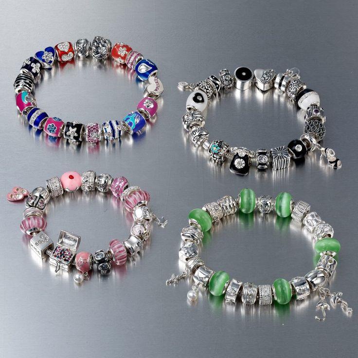 Donna Mia charm bracelets