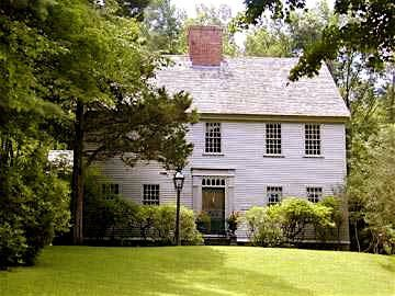 1000 images about colonial house on pinterest house for Center chimney house plans