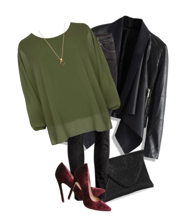 """""""Untitled #143"""" by jazminonly on Polyvore featuring Chicwish, H&M, WearAll and Steve Madden"""