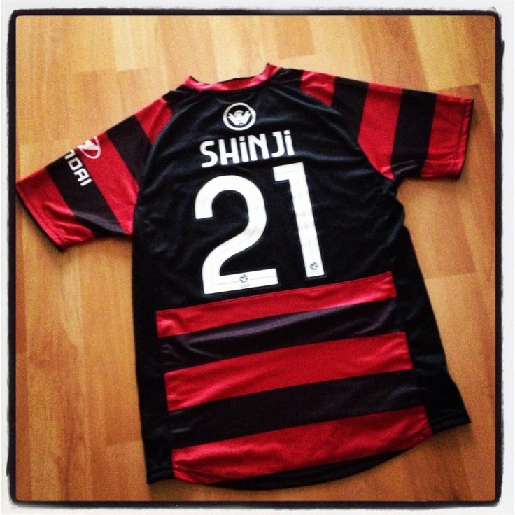 WSWFC home jersey... #21 Shinji Ono!