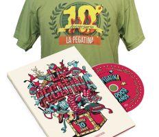 La Pegatina - La Tienda Pack 10 años!! Docu + Camiseta exclusiva