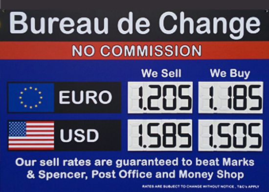 What's the latest Forex Rates Uk?