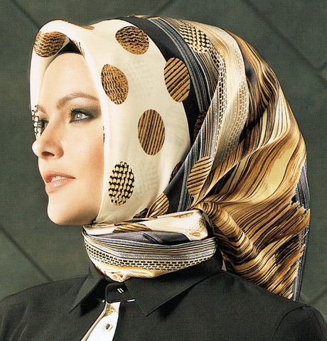 Armine Silk Hijab Fall Winter 2014-2015 #6254 | Modefa USA