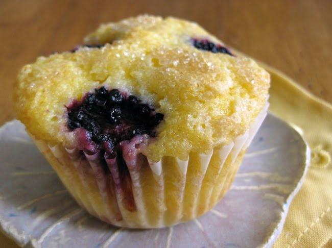 butter banana and blackberry muffins blackberry cream cheese muffins ...