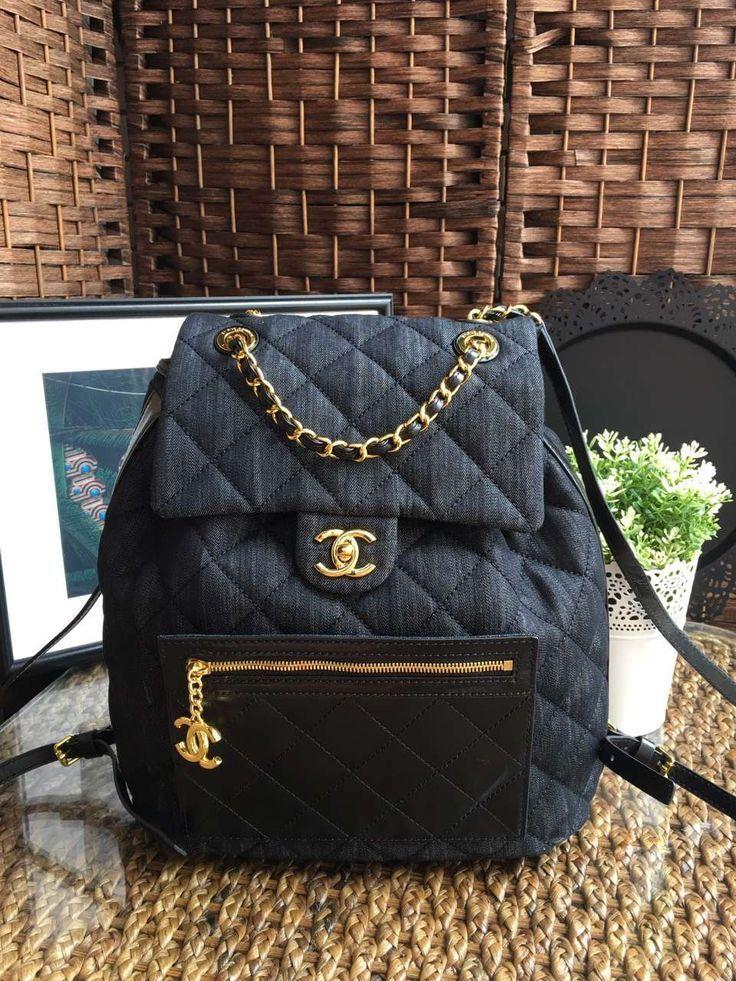 f2d9f1613e78 Chanel backpack id chanel green jpg 736x981 Chanel backpacks for women