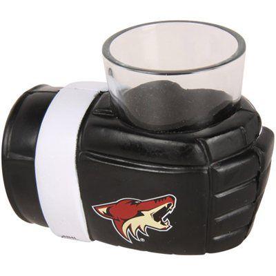 Arizona Coyotes Game On Wrist Shot Glass Holder #myNHLWishListSweeps