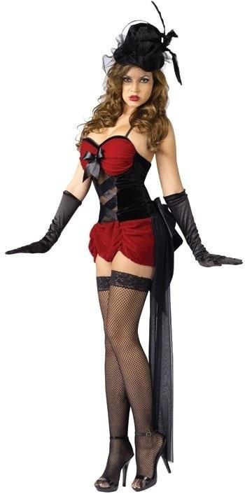 sexy red burlesque costume    #Sexy #Burlesque #Cancan #Cabaret #Costume