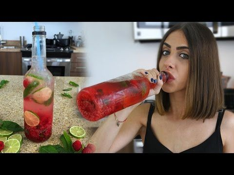 Raspberry Mojito in Bottle and The Charlie Charlie Challenge - Tipsy Bartender - YouTube