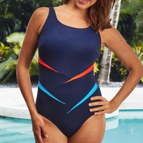 NEW! Nicola Jane Kahului Mastectomy Swimsuit: 10, 14, 22, 24