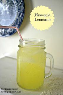 Pineapple Lemonade - the Tip Garden (blog)
