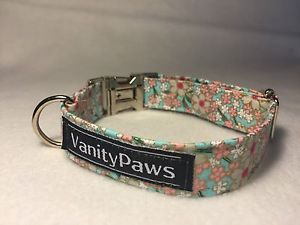 Baby Pink AND Blue Asian Flowered DOG Collar | eBay