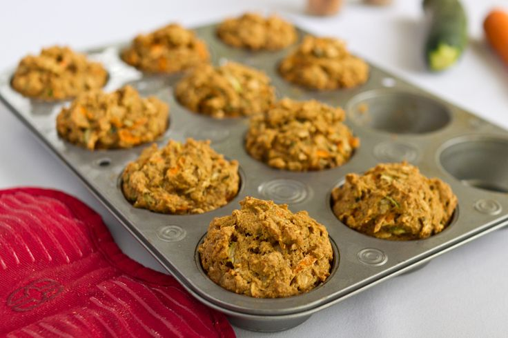 Carrot and Zucchini Muffins - The Ornish SpectrumThe Ornish Spectrum