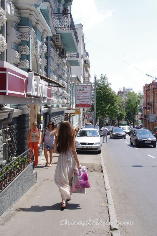 Calles de Kiev.