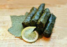 Кухня турецких тетушек : Вегетарианская Сарма / Zeytinyağlı yaprak sarması