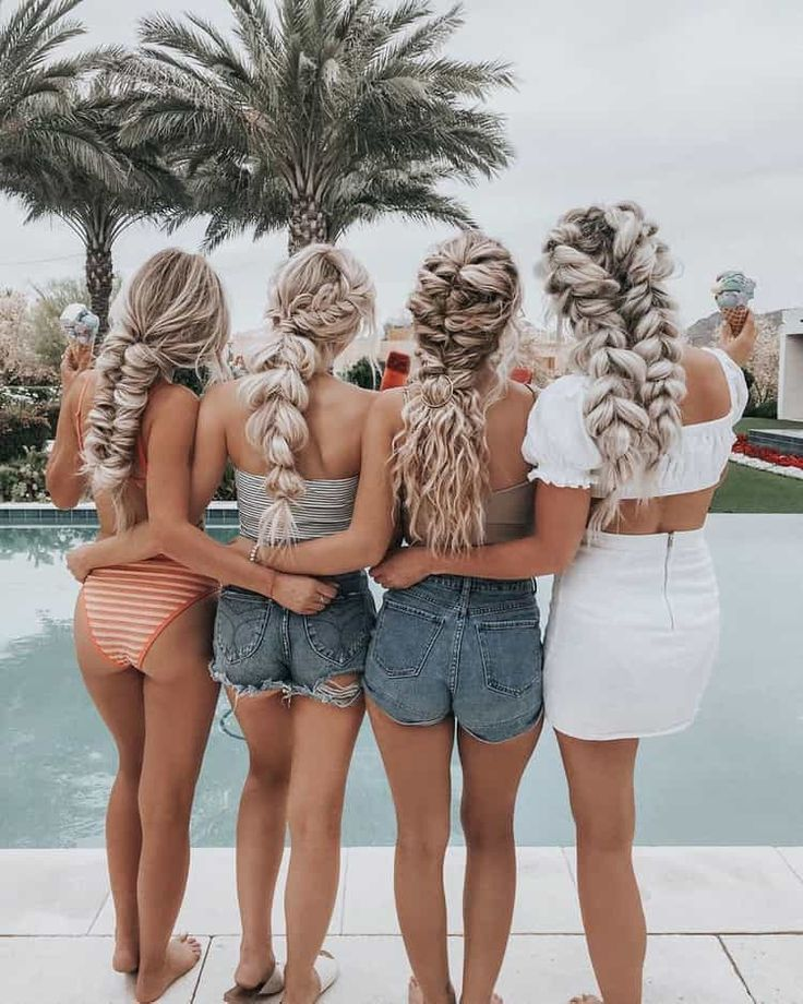 These bestfriends are the ultimate #hairgoals #foundonweheartit #bestfriendgoals #bestfriends #friendgoals #celebritybestfriends #bffpictures #bffpictureideas #famousfriends #friendship #pictureoftheday