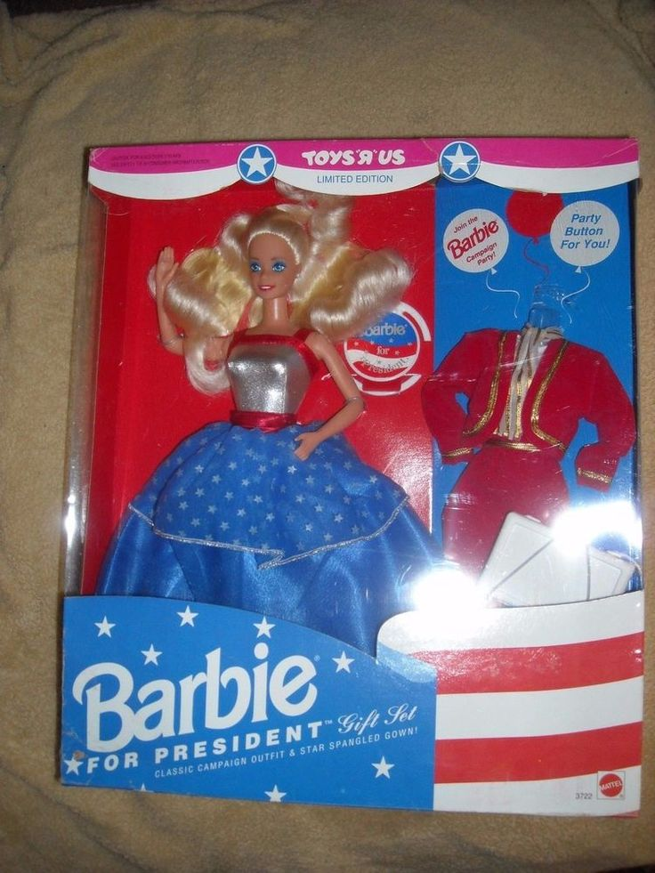 Toys''R''Us Barbie for President Gift Set 1991 New in Box  for sale in my store The Chi