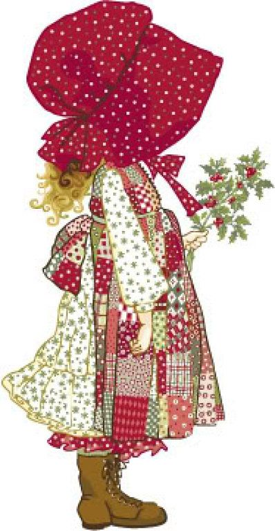 Holly Hobbie - great grandma made me a quilt of her. Would love to get her tattooed.
