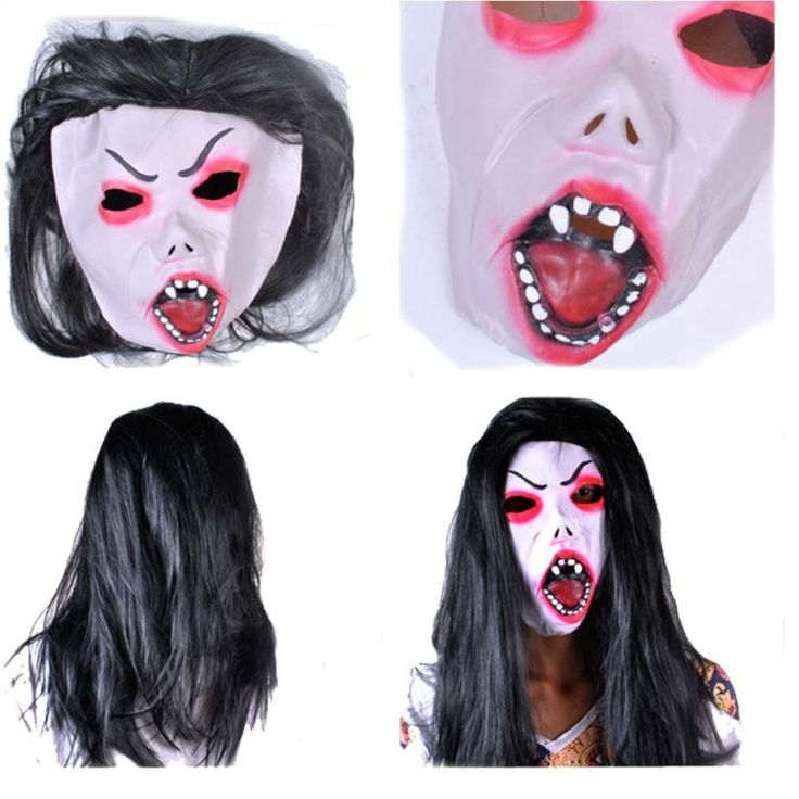 new mascaras halloween theater scary masquerade masks halloween party latex mask head halloween party decoration supplies