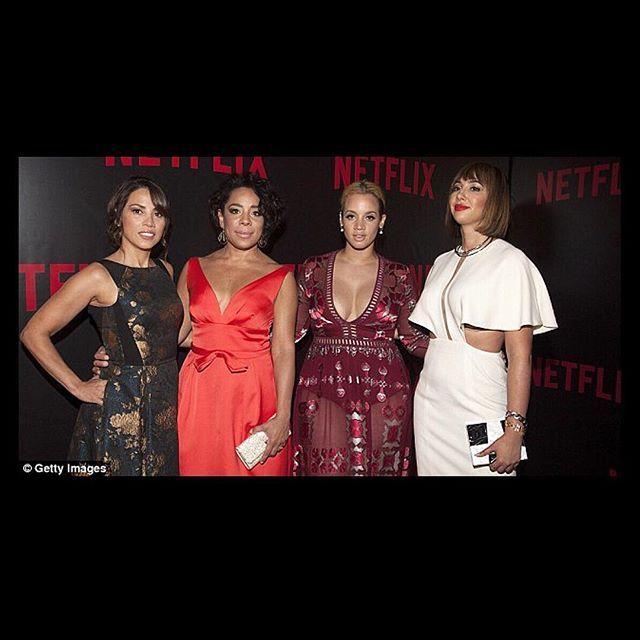 Orange is the New Black - Elizabeth Rodriguez, Selenis Leyva, Dascha Polanco, and Jackie Cruz