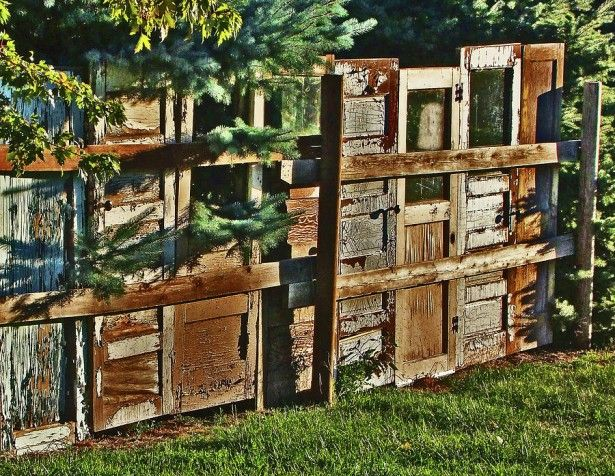 creative fence ideas - Google Search
