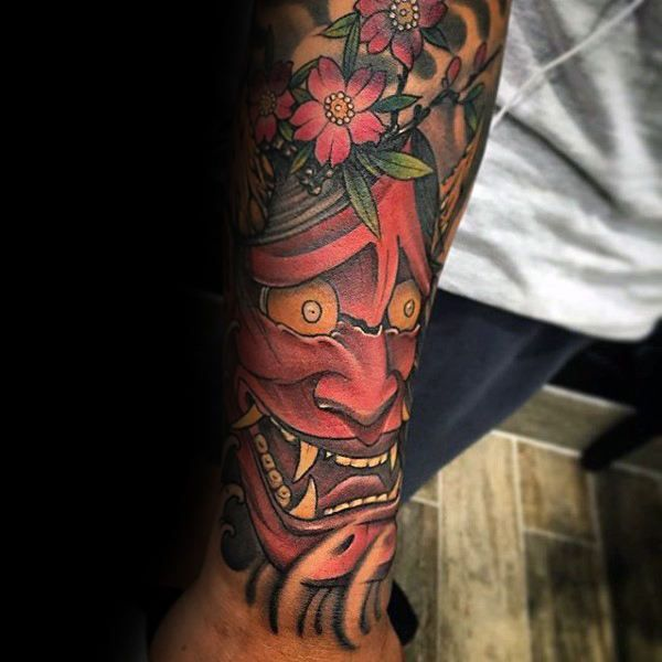100 hannya mask tattoo designs for men japanese ink ideas pinterest male tattoo hannya. Black Bedroom Furniture Sets. Home Design Ideas