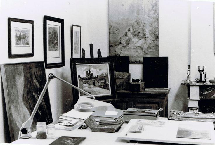 Restauratie Atelier Driessen Maastricht anno 1978