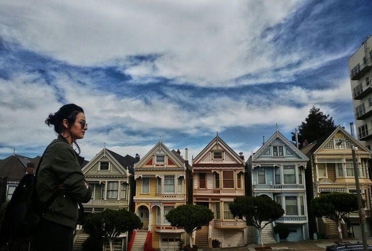 The Painted Ladies △ San Francisco ▽ @lliv_