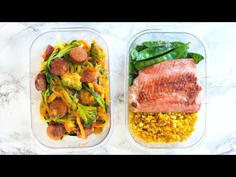 (53) HEALTHY MEAL PREP! MEAL PREP FOR WEIGHT LOSS! EASY RECIPES! – YouTube