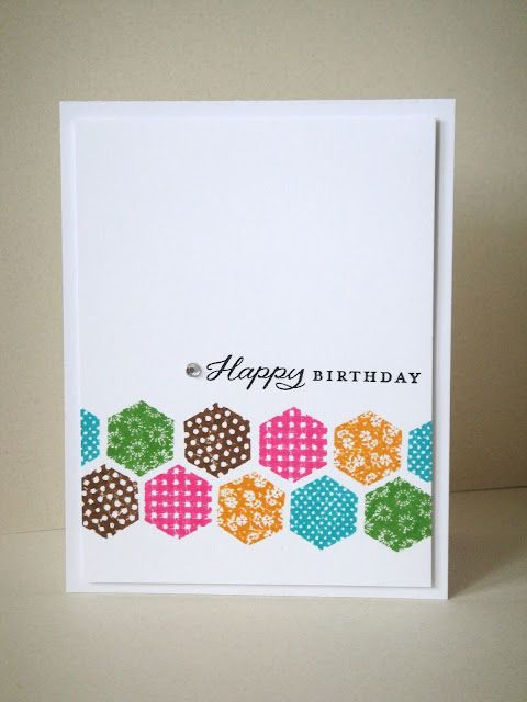 Hooked on HexagonsMoxie Fab, Cards Ideas, Features Sponsor, Birthday Cards, Cards Inspiration, Hexagons Challenges, Cards Hexagons, Hexagons Cards, Challenges Winner