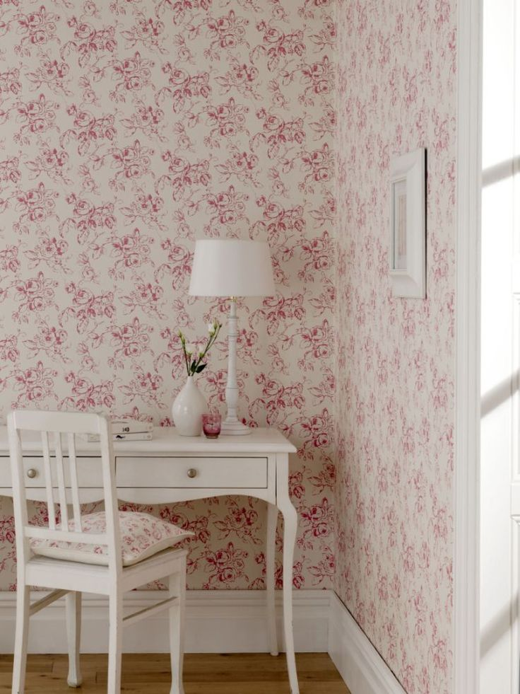 49 best patternspy 39 s feminine rooms wallpaper and fabric for How to make your room look girly