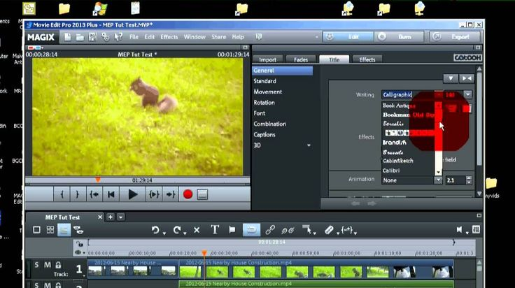 Magix Movie Edit Pro 2013 PLUS Tutorial for the Beginner (All steps to m...