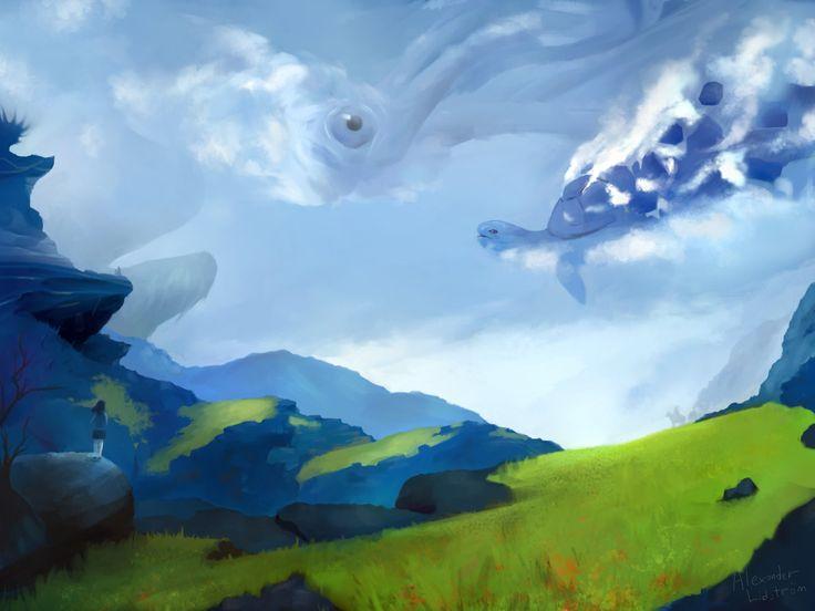 ArtStation - Into the blue, Alexander Lidström