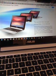 Tony Thomas' Techtrends: Asus Chromebook Flip