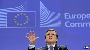The European Commission has tabled its controversial financial transaction tax (FTT), despite the fact that only 11 member states out of 27 support it.  The tax, proposed by Commissioner Algirdas Semeta in Brussels, has been adopted by 11 eurozone states, including France, Germany and Spain.  The FTT aims to raise public funds and encourage more responsible trading by financial institutions.  Commission President Jose Manuel Barroso pushed ahead with the tax, despite opposition.