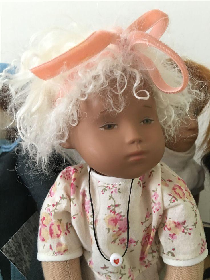 Baby Bon Bon Sasha doll created in likeness of Studio baby by UK Artist Janet Myhill Dabbs