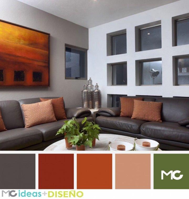 Mejores 56 im genes de paletas de colores color palettes - Paletas de colores para interiores ...