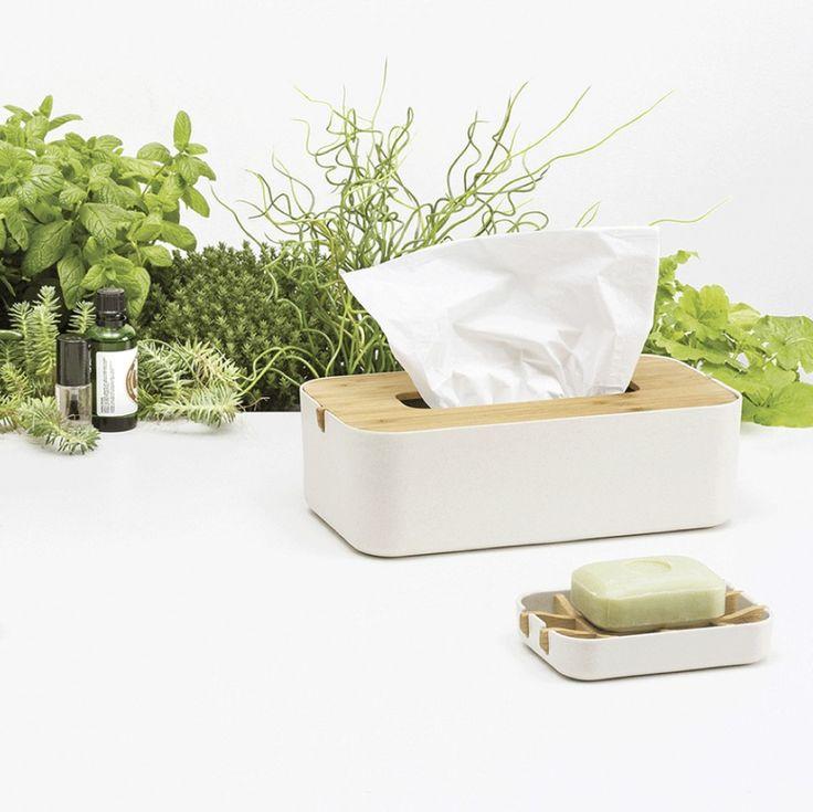 Kúpeľňové doplnky z dizajnovej kolekcie ZEN od Lexon