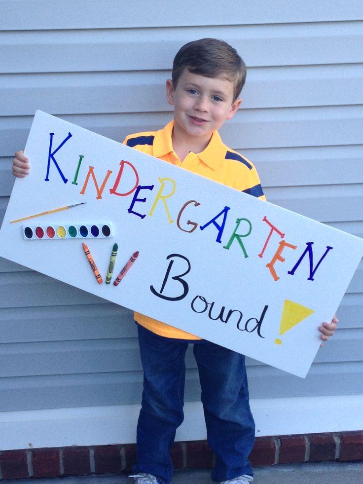 One of my preschool students---Preschool Graduation Picture // preschool and kindergarten graduation